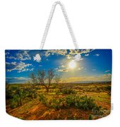 Arizona Sunset 28 Weekender Tote Bag
