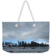 Arizona Winter Landscape Weekender Tote Bag