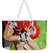 Arkansas Razorbacks Football Weekender Tote Bag