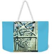 Arkansas Side Of Helena Bridge 1 Weekender Tote Bag