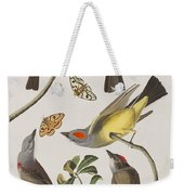 Arkansaw Flycatcher Swallow-tailed Flycatcher Says Flycatcher Weekender Tote Bag
