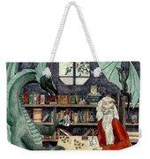 Arleas And The Wizard - Green Weekender Tote Bag