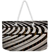 Arlington Cemetery Amphitheater Benches #2 Weekender Tote Bag