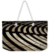 Arlington Cemetery Amphitheater Benches Weekender Tote Bag