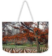 Arlington Cemetery In Fall Weekender Tote Bag by Carolyn Marshall