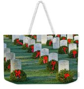 Arlington National Cemetery At Christmas Weekender Tote Bag