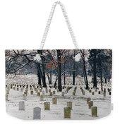 Arlington Winter Snow Weekender Tote Bag