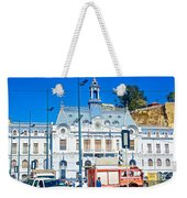 Armada De Chile In Valparaiso-chile  Weekender Tote Bag