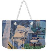 Armand On The Train Weekender Tote Bag