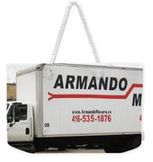 Armando Movers Weekender Tote Bag