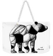Armored Bear Weekender Tote Bag