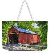 Armstrong/clio Covered Bridge Weekender Tote Bag
