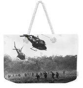 Army Airborne In Vietnam Weekender Tote Bag