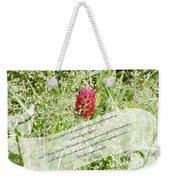 Army Of One - Quote Weekender Tote Bag