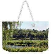 Aroostook River Landscape Weekender Tote Bag