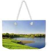 Around Barton Marina Lake Weekender Tote Bag