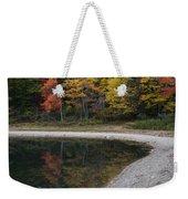 Around The Bend- Hiking Walden Pond In Autumn Weekender Tote Bag