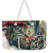 Around The Market Weekender Tote Bag