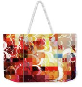 Arraygraphy - Sunset Inferno Triptych Weekender Tote Bag