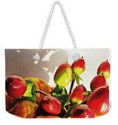 Arrangement On Squash 3 Weekender Tote Bag by Sarah Loft