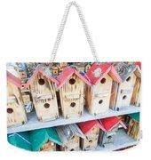 Array Of Handmade Birdhouses For Sale Weekender Tote Bag