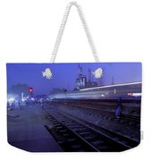 Arrival At Dusk Weekender Tote Bag
