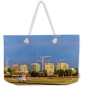 Arrival By Air Weekender Tote Bag
