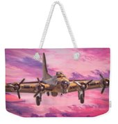 Arrival Of A Fortress Weekender Tote Bag