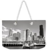 Arriving Downtown Seattle Weekender Tote Bag