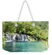 Arrow Bamboo Waterfall Weekender Tote Bag