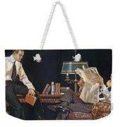 Arrow Shirt Collar Ad, 1914 Weekender Tote Bag