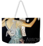 Arrow Shirt Collar Ad, 1923 Weekender Tote Bag