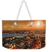 Art Beautiful Views Exist Fragmented Weekender Tote Bag