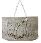 Art Created By Nature On Sand  Weekender Tote Bag
