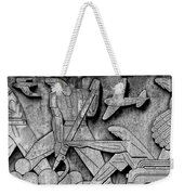 Art Deco 7 Weekender Tote Bag