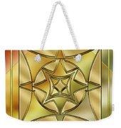 Art Deco Brass 2 Weekender Tote Bag