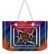 Art Deco Design 2020 C Weekender Tote Bag