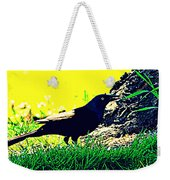 Art Deco Grackle Weekender Tote Bag