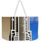 Art Deco Nbc Tower Weekender Tote Bag