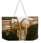 Art Deco Olds Trim Weekender Tote Bag