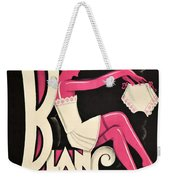 Art Deco Paris Lingerie Ad Weekender Tote Bag