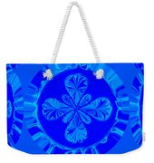 Art In Blue Weekender Tote Bag