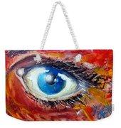Art In The Eyes Weekender Tote Bag