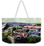 Art In The Orchard Weekender Tote Bag