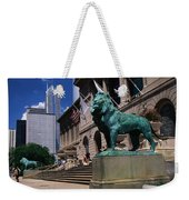 Art Institute Of Chicago Chicago Il Usa Weekender Tote Bag