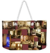 Art Institute Of Chicago Miniature Room Collage Weekender Tote Bag