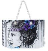 Art Nouveau Girl 1 Weekender Tote Bag