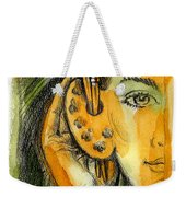 Art Of Listening Weekender Tote Bag