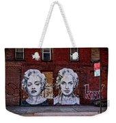 Art On The Street Weekender Tote Bag