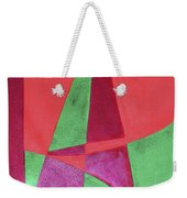 Art Painted In Abstract  Weekender Tote Bag